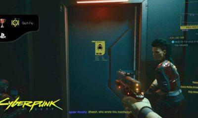 Cyberpunk 2077 Gun Fu