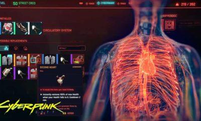 Cyberpunk 2077 Legendary Second Heart location