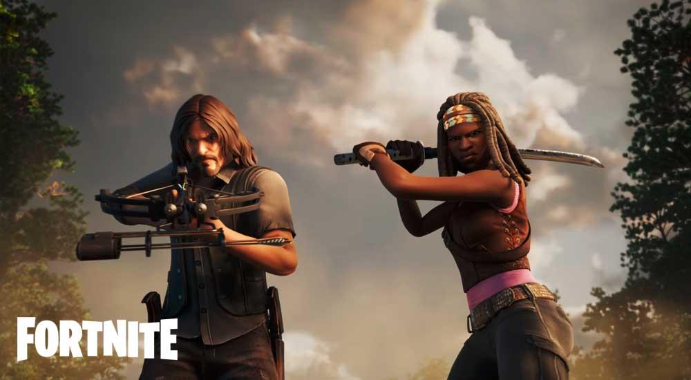 Fortnite-Walking-Dead