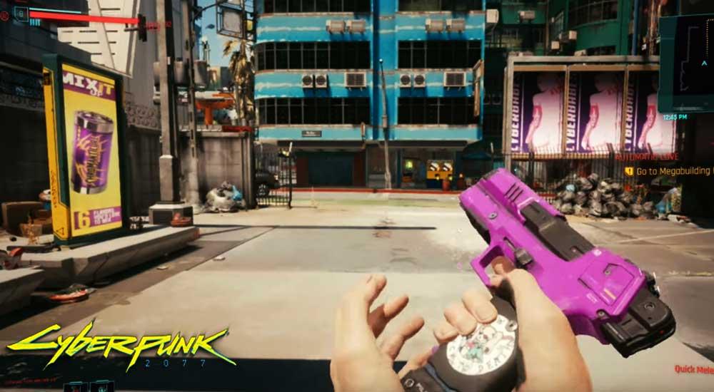 cyberpunk 2077 lizzie gun