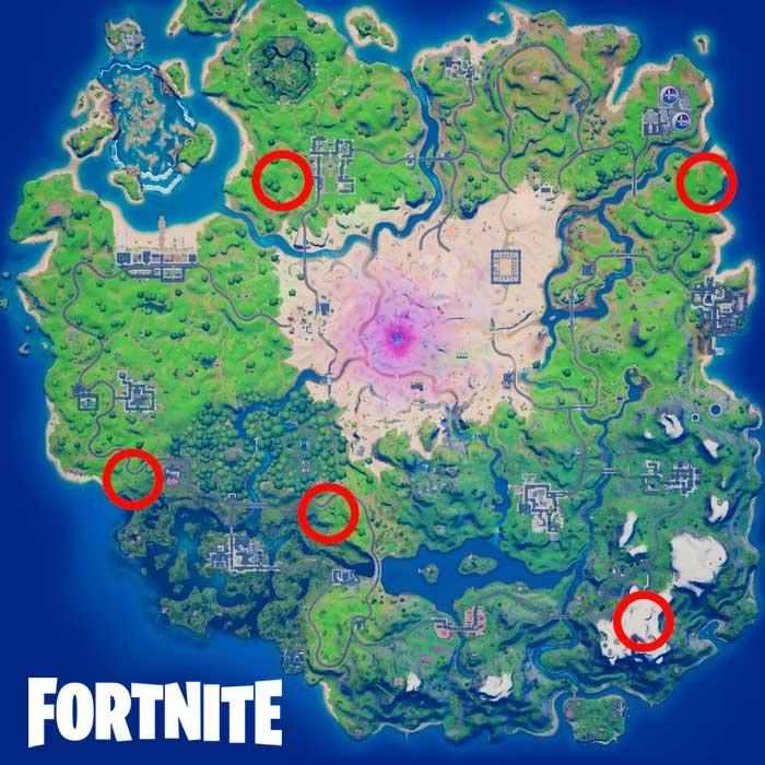 Planes In Fortnite location