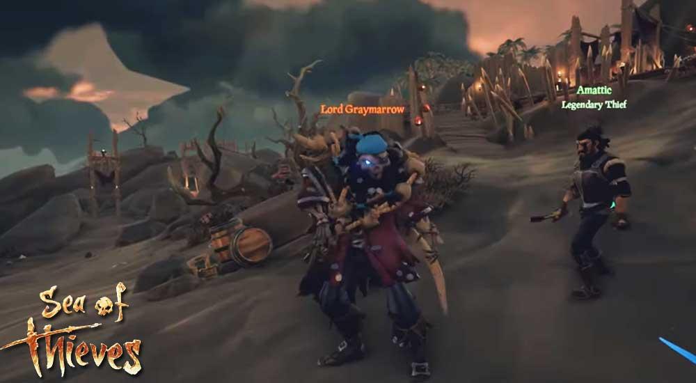 Sea of thieves Revenge of the Morningstar