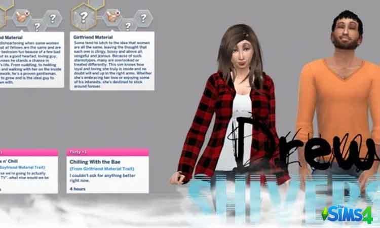 Boyfriend and girlfriend material traits