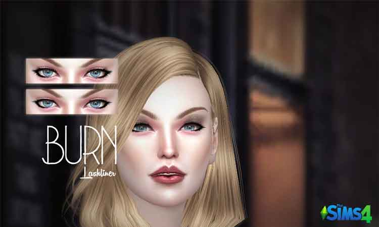 Burn Eyelashes V1