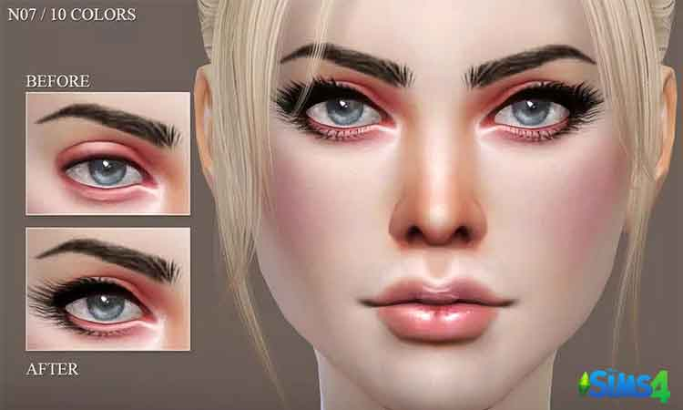 Eyelashes Pack N07