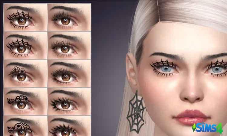 Halloween 3D eyelashes