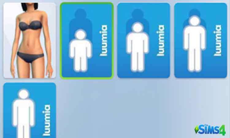 Sims 4 Height Slider