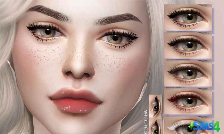 Maggie Eyelashes + Eyeliner N94