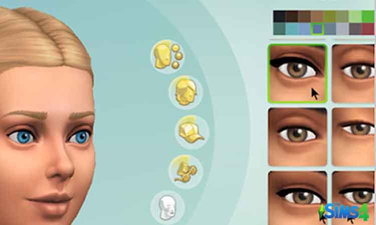 No EA eyelashes
