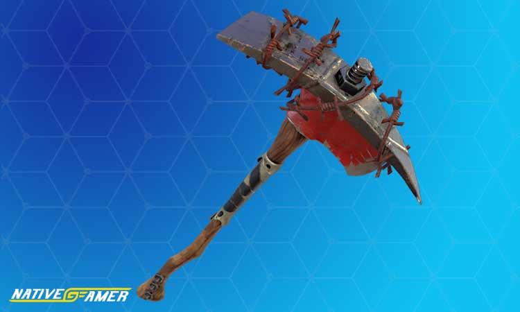 Raiders Revenge pickaxe