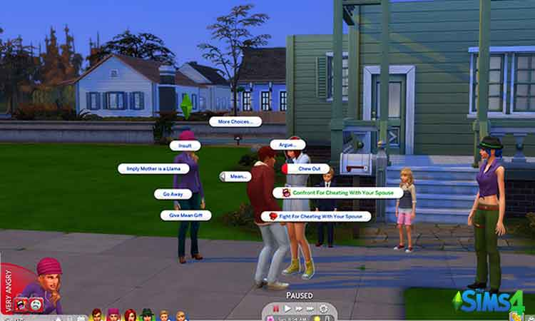 Sims 4 Realistic Reaction
