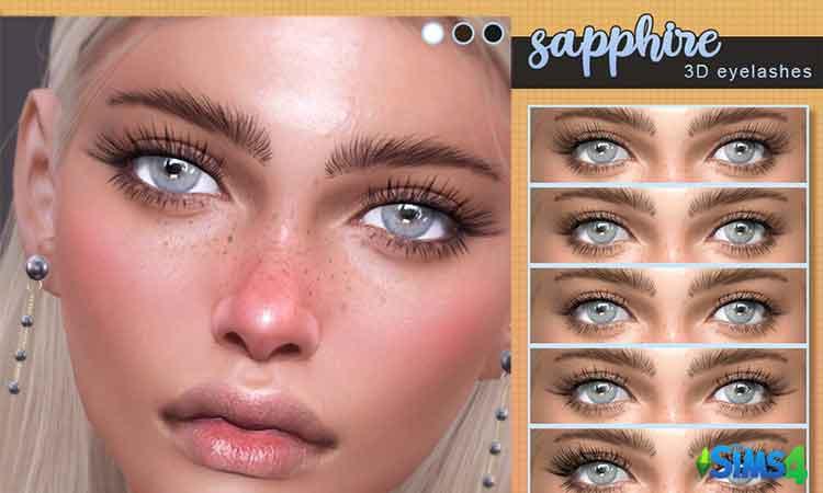 Sapphire-3D eyelashes
