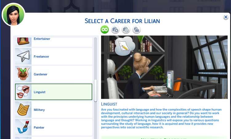 Linguist Career