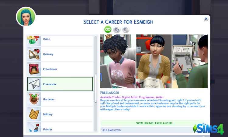 Self Employment Career
