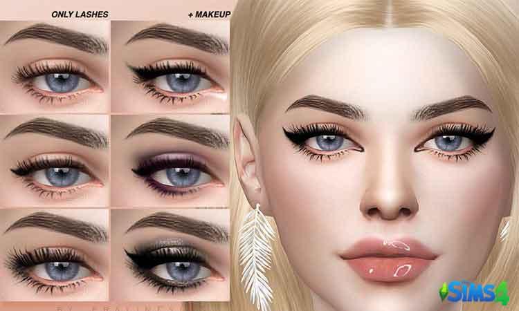 Skin Detail lashes Pack N01