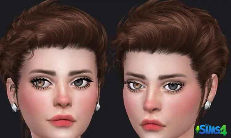 TS4 04 Eyelashes by Glaza