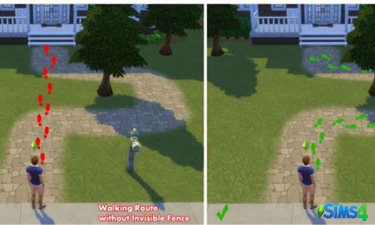 Sims 4 Invisible Fence