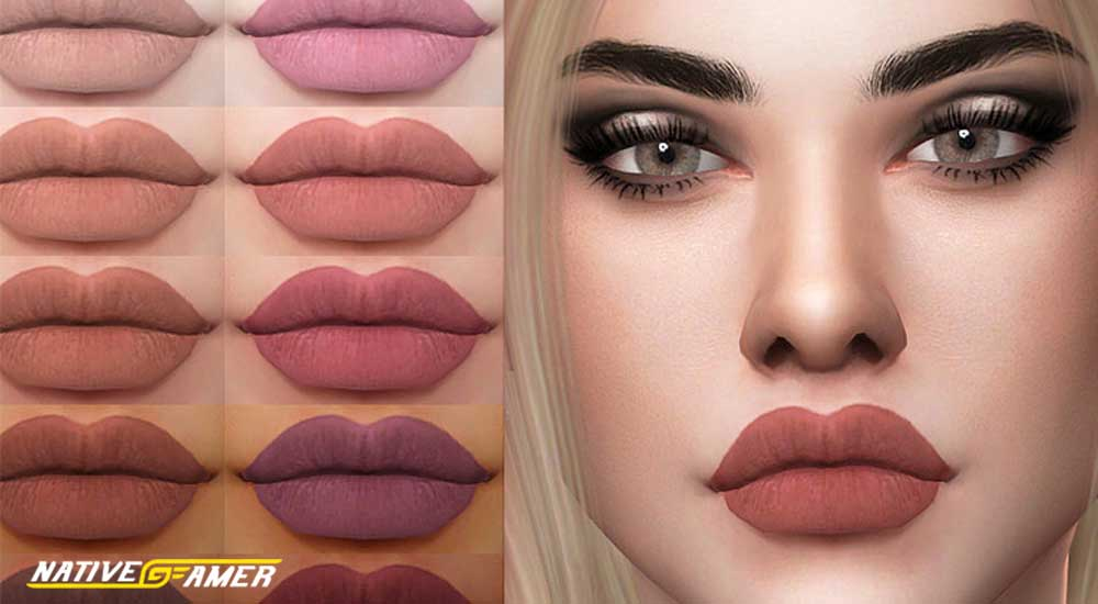 sims 4 lip mods