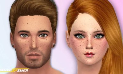 Sims 4 Freckles Mods