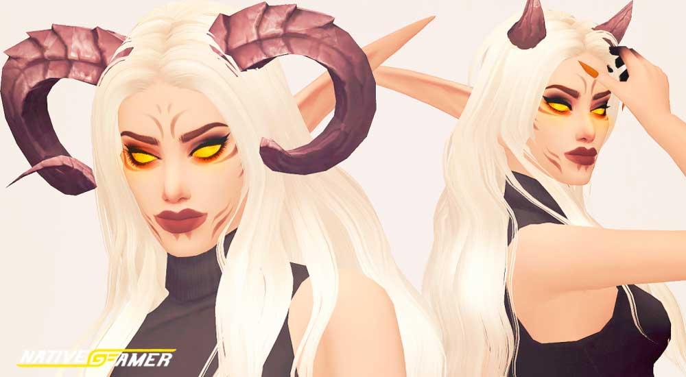 sims 4 horns