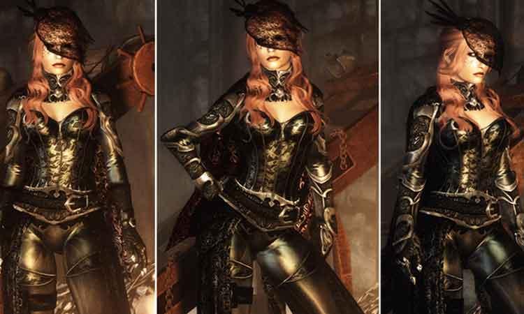 Lustmord Vampire Armor