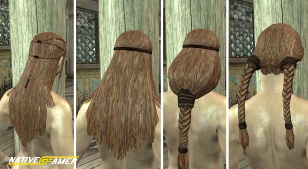Skyrim Hair mods