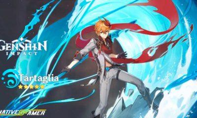 Tartaglia Genshin Impact Best Builds, Weapons & Skills